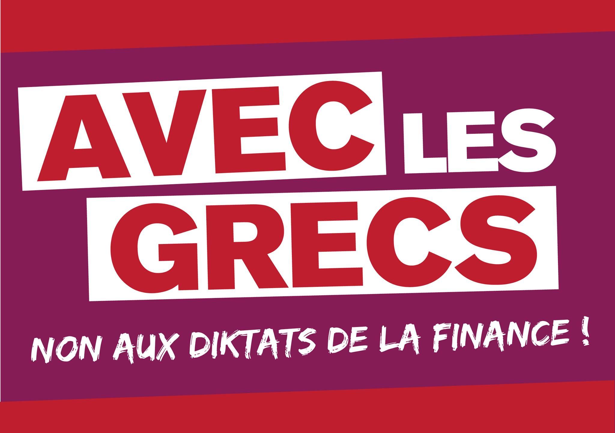 Site du collectif unitaire de solidarité avec le peuple grec